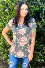 Load image into Gallery viewer, Rose of the Amazon Short Sleeve Top