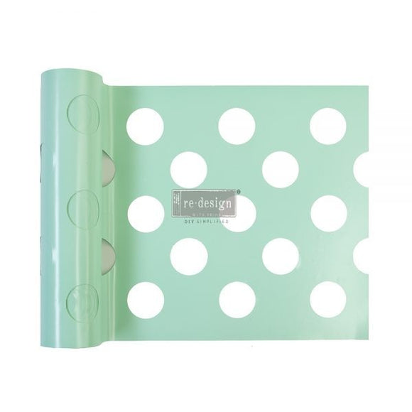 Redesign - Stick & Style Large Polka Dot Stencil
