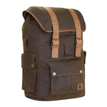 Load image into Gallery viewer, Ashby Classic Waxed Cotton Rucksack