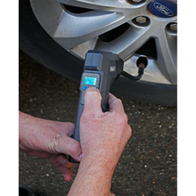 Load image into Gallery viewer, Compact Rechargeable Tyre Inflator & Powerbank with Work Light