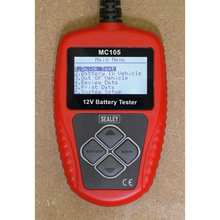 Load image into Gallery viewer, Motorcycle Digital Battery Tester 12V