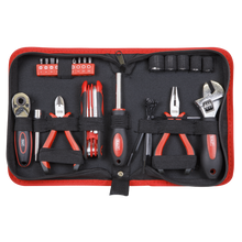 Load image into Gallery viewer, Motorcycle Underseat Tool Kit 28pc