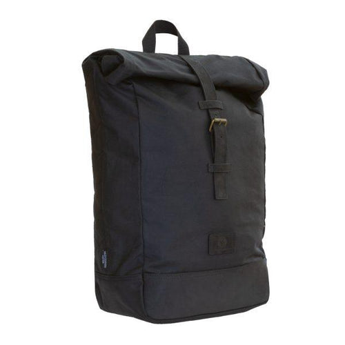 Yarnfield Roll Top Classic Waxed Cotton Rucksack