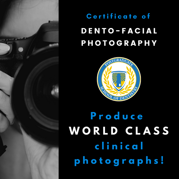 Certificate of Dento-Facial Photography Course