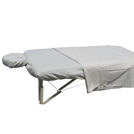 Deluxe Flannel Massage Sheet Set