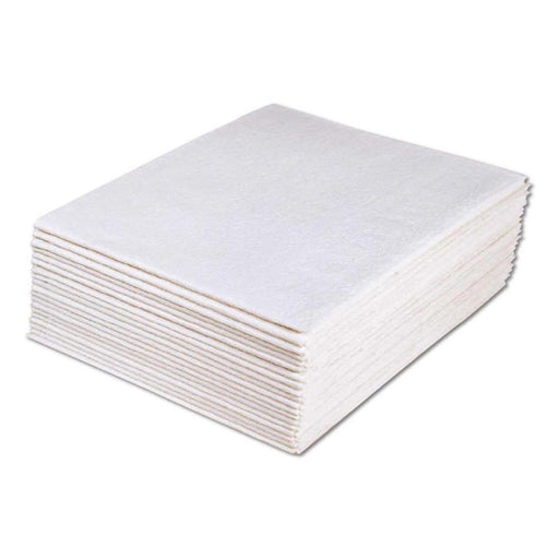"Drape Sheets, 2-Ply Tissue - 40"" Wide 48"" Long, White - 100/Case"