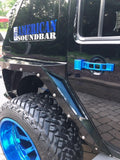 Jeep Wrangler JK Door Handles - Blue
