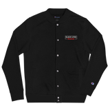 Black Lives MAGA Embroidered Champion Bomber Jacket