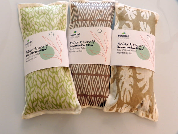 Therapeutic Botanical Eye Pillows