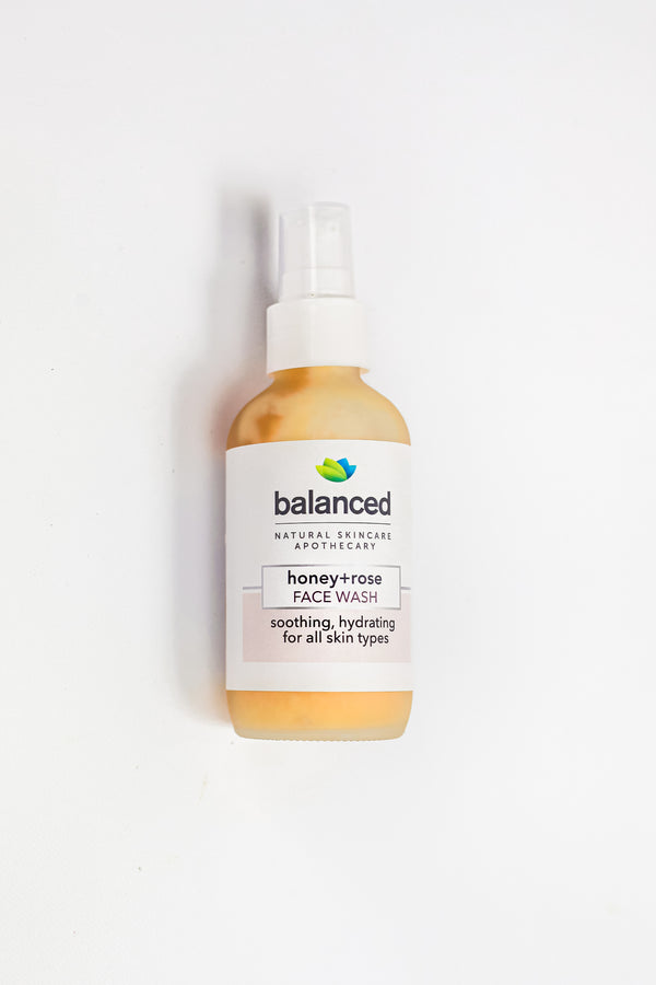 Honey+Rose Lavender Face Wash
