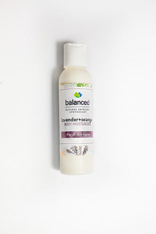 Lavender+Orange Body Moisturizer
