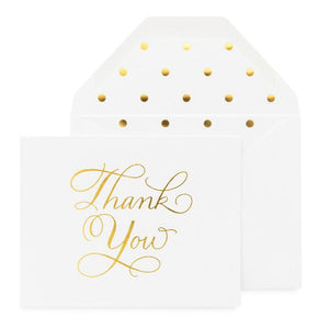 Traditional Thank You Note Set