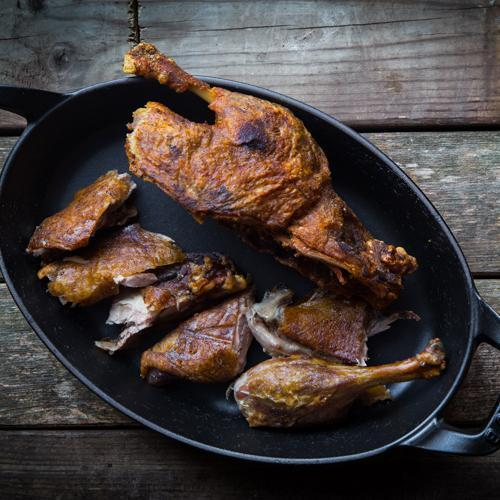 From The Tips - Issue No.5 | Recipe: Szechuan Fragrant Crispy Duck.