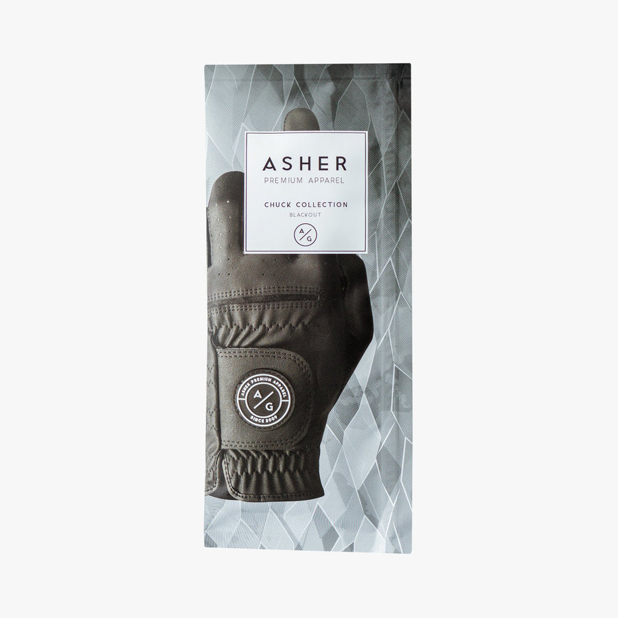ASHER CHUCK GLOVES - BLACKOUT
