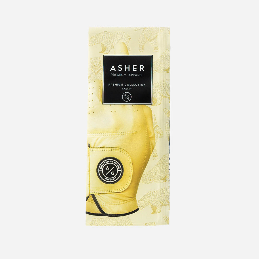 ASHER PREMIUM GLOVES - CANARY