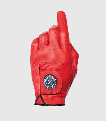 ASHER PREMIUM GLOVES - RED BURST