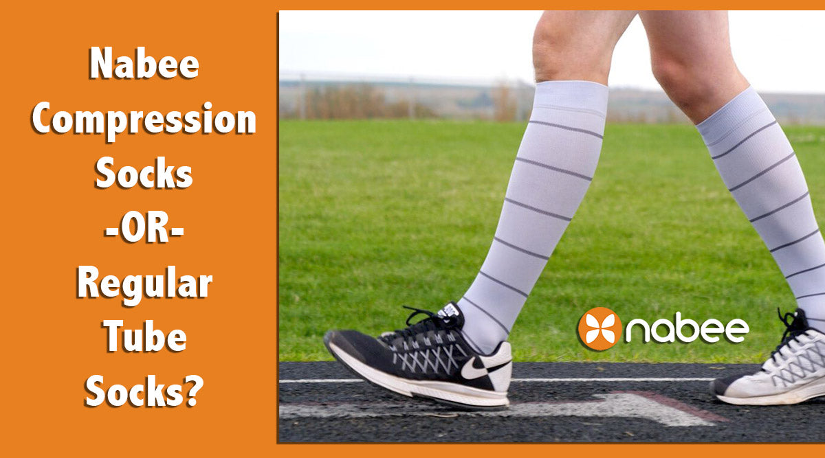 Nabee Compression Socks OR Regular Tube Socks?
