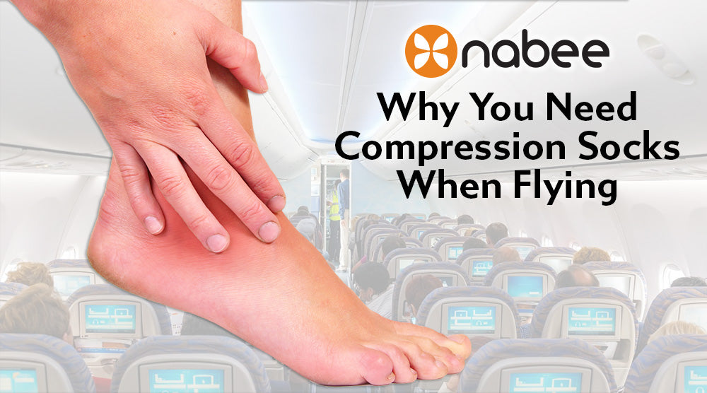 Why You Need Compression Socks When Flying