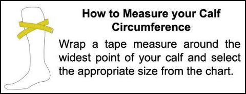 How to Measure Compression Socks Size