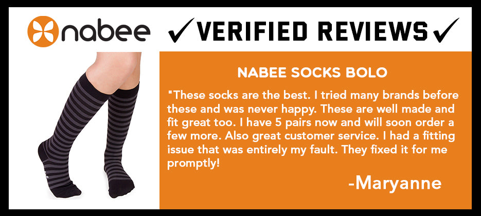 "Nabee Socks Verified Review of ""Bolo"""