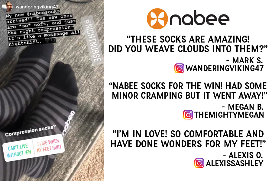 Nabee Socks Customer Reviews