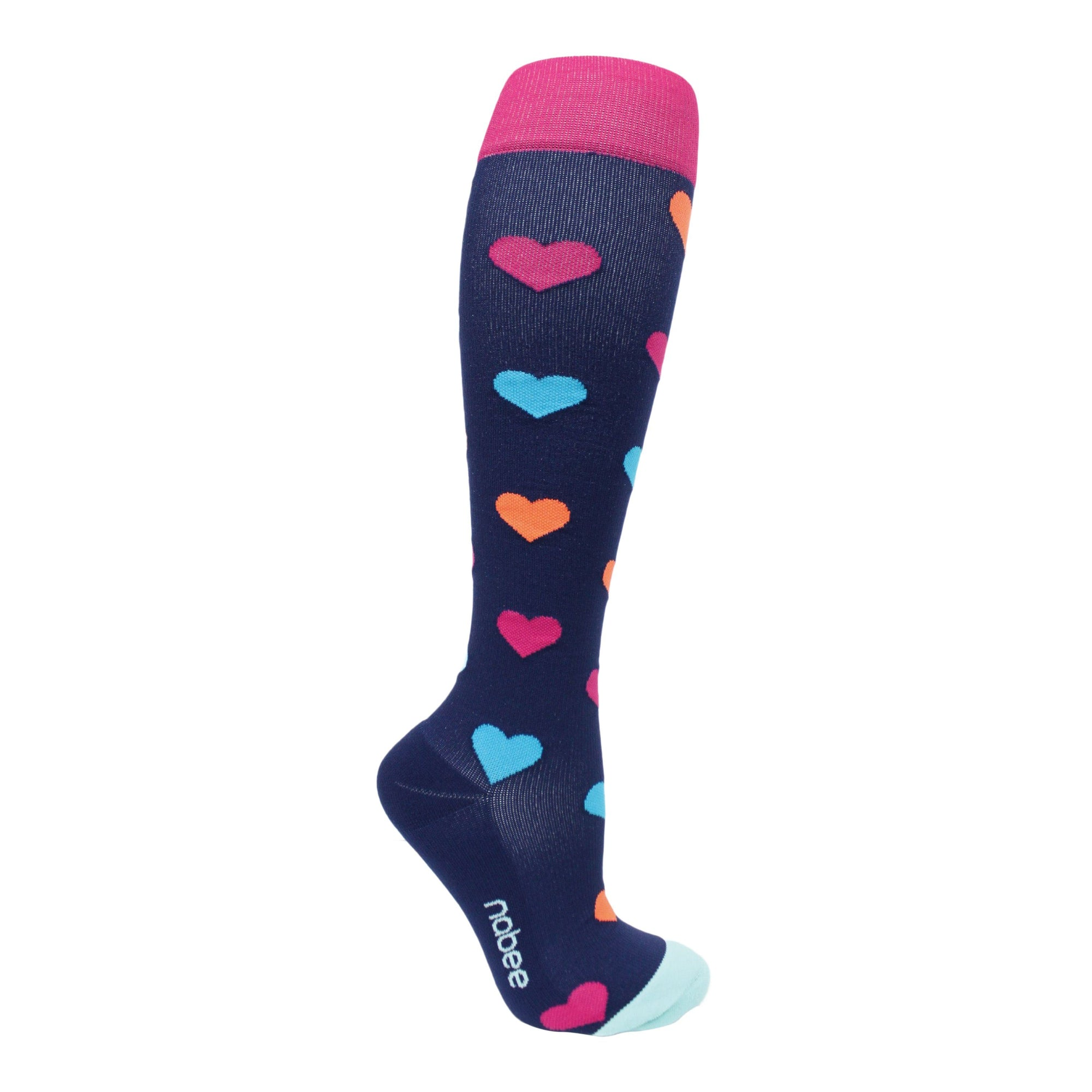 Hearts - (20-30mmHg) - Nabee Socks