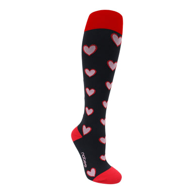 Compression Socks - Burnin Love - (20-30mmHg)