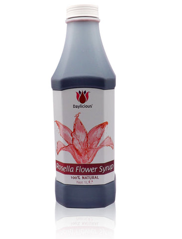 Rosella syrup concentrate 1 litre