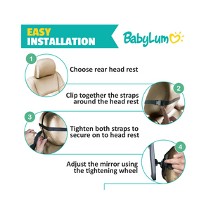 Baby Car Mirror - BabyLum