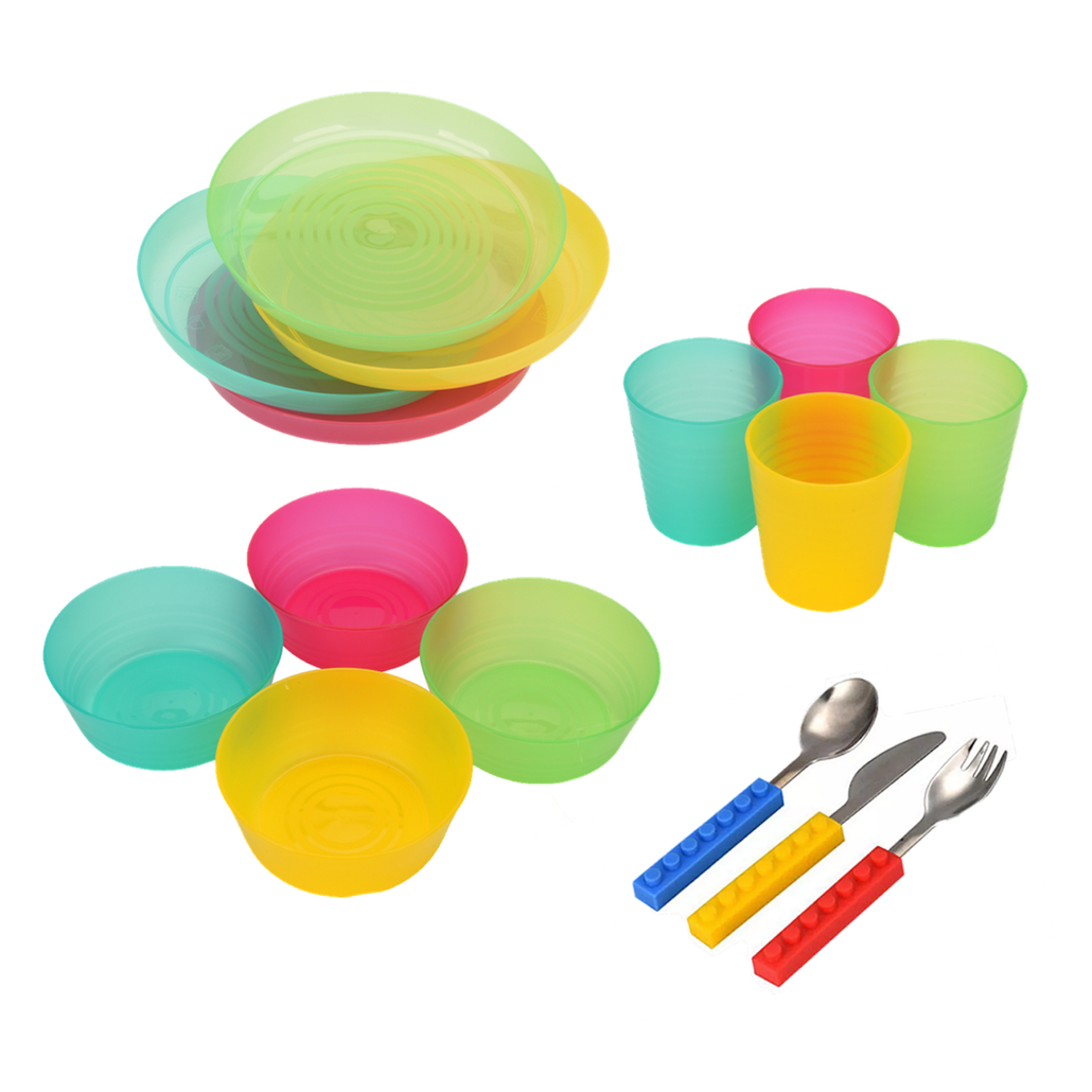 BabyLum 4 Set Kids Dinnerware Set