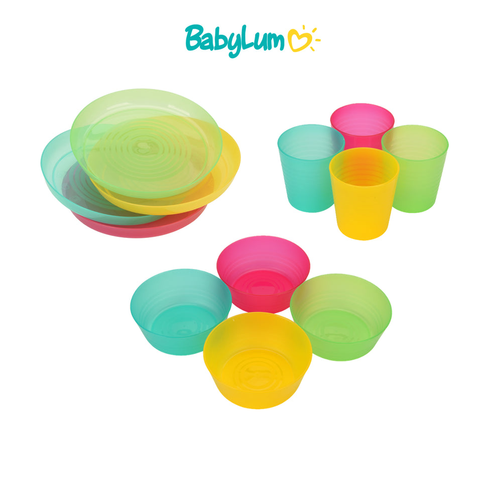 Kids Dinnerware and Cutlery Set - BabyLum
