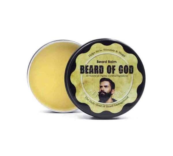 2oz Hand-Poured Beard Balm - beardofgod