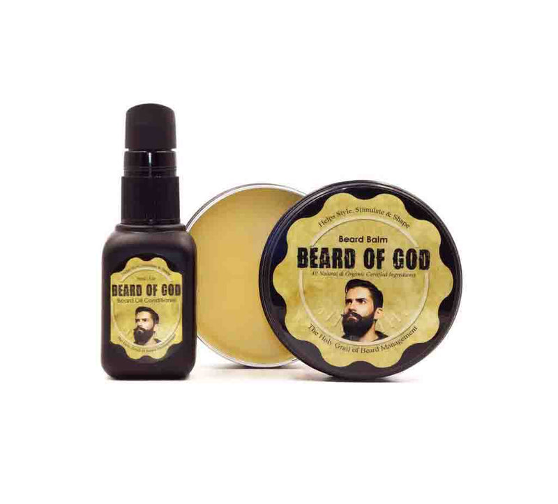 Dynamic Duo | 2oz Beard Balm & 1oz Beard Oil - Beard of God