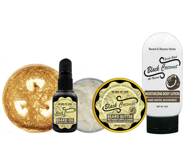 Beard & Body Gift Set - Beard of God