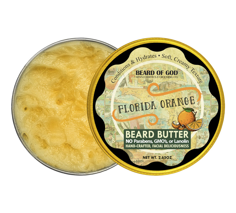 Florida Orange Hand-Whipped Beard Butter - Beard of God