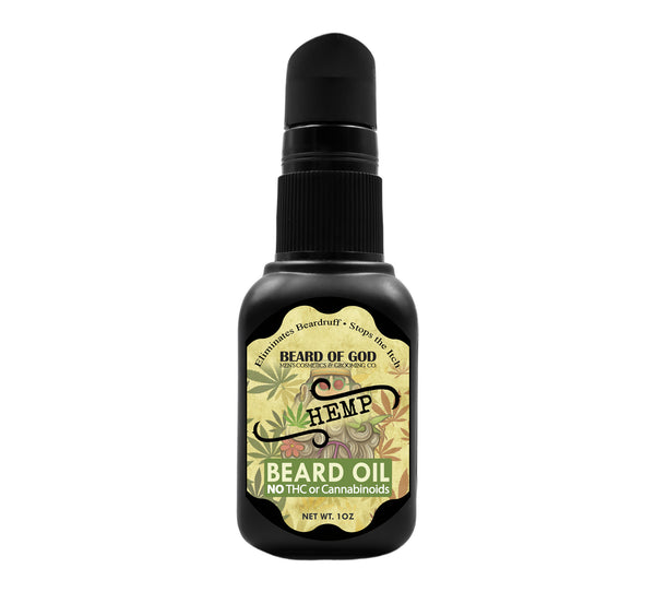 Hemp 🍁 Nourishing Beard Oil - Beard of God