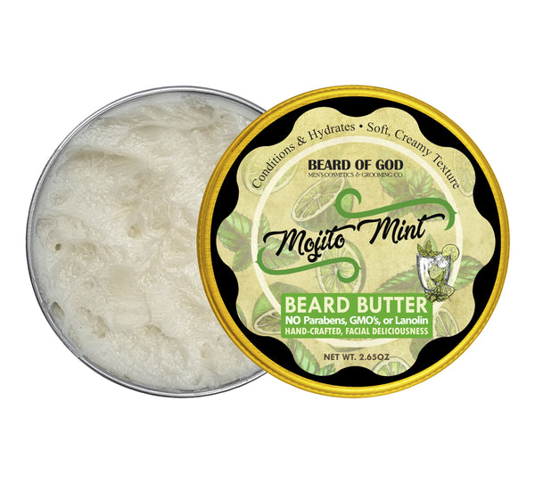 Mojito Mint Hand-Whipped Beard Butter - Beard of God