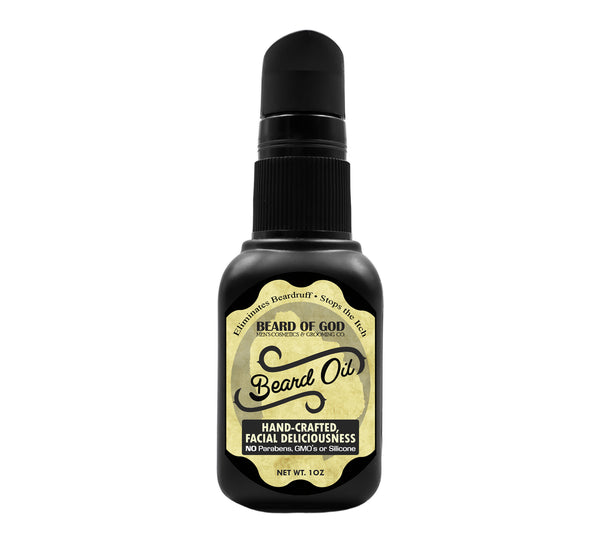 Bay Rum Nourishing Beard Oil - Beard of God