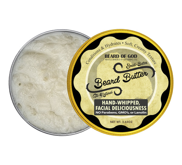 Coco-Vanille Hand-Whipped Beard Butter - Beard of God