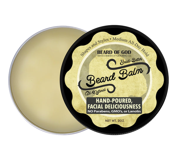 Fabulous Hand-Poured Beard Balm - Beard of God