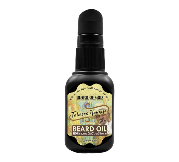 Tobacco Havana Nourishing Beard Oil - Beard of God
