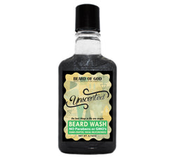 Unscented Titanium Shimmer Beard Wash - Beard of God