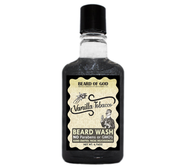 Vanilla Tobacco Titanium Shimmer Beard Wash - Beard of God