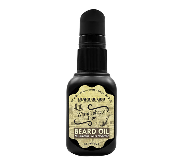 Warm Tobacco Pipe Nourishing Beard Oil - Beard of God