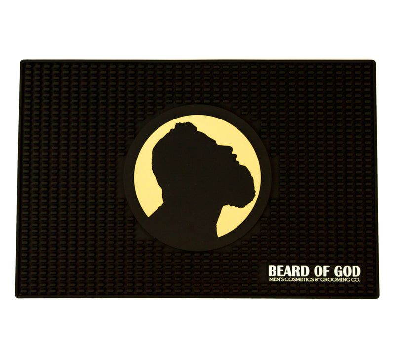 Non-Slip Dotted Barber Mat - Beard of God
