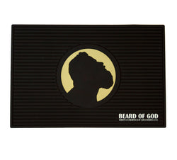 Non-Slip Slotted Barber Mat - Beard of God
