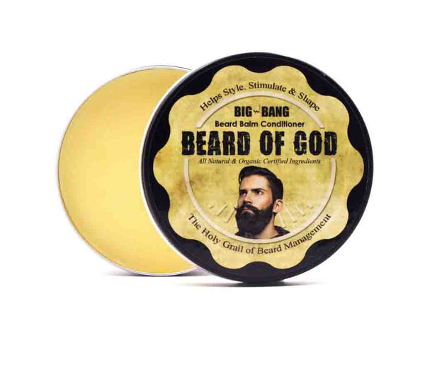 3.4oz Big Bang ⚡ Beard Balm Conditioner - beardofgod