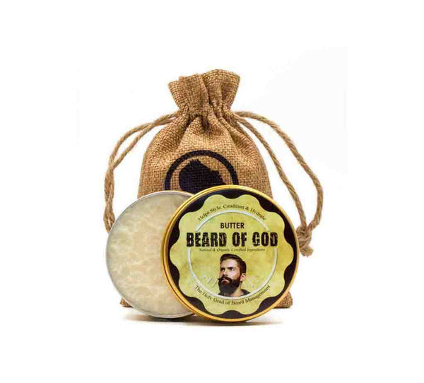 2.5oz Hand-Whipped Beard Butter - beardofgod