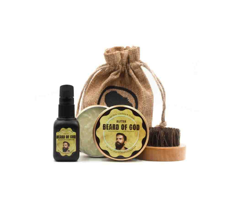 Hades Kit | 2oz Beard Butter, 1oz Beard Oil, & Comb - beardofgod