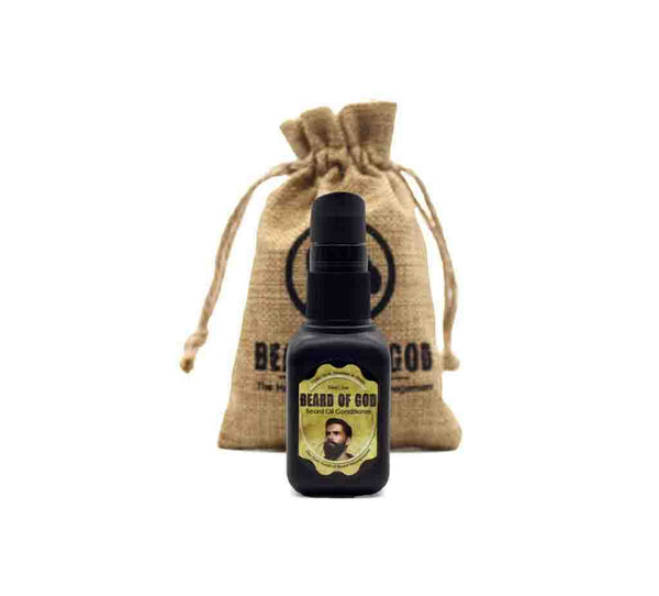 1oz Nourishing Beard Oil - beardofgod
